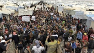 Syrische Flüchtlinge 2015
